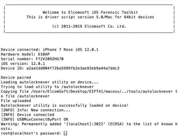 iOS Forensic Toolkit(ios取证工具套件) v5.20官方版